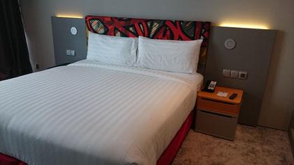 Ibis Styles Hotel Jumeirah, Dubai, Hotelbett
