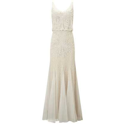 Phase Eight Cathlyn Wedding Dress, Ivory