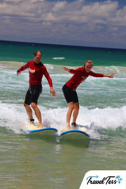 Surfen Australië oostkust