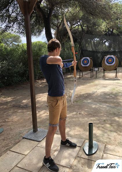 Boogschieten Robinson Club Apulia