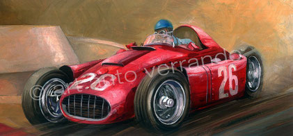 Ascari - Monaco painting