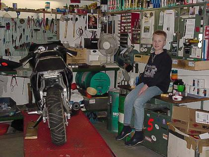 1998 - Gründung in der Garage
