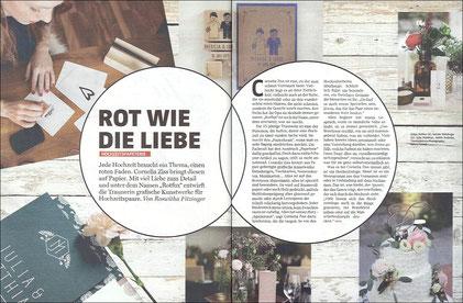 """SERVUS in Stadt & Land """"GUTE KÜCHE"""" Herbst 2016, Küchenstempel"""