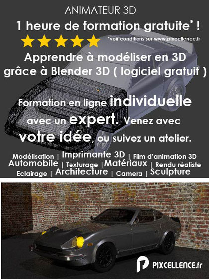 formation 3D