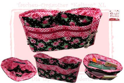 Taschen-Organizer, Taschenhopser, Utensilo, Tasche, Shopper