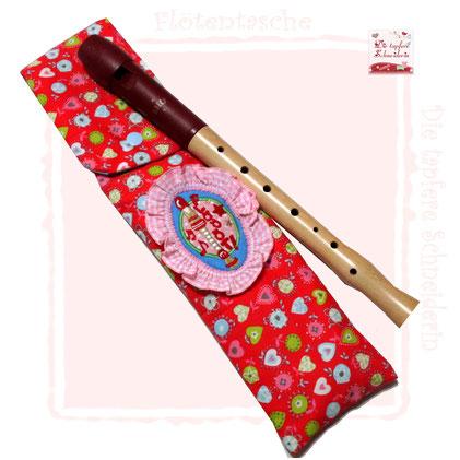 Flötentasche, Musiktasche, Instrumententasche, Blockflötentasche