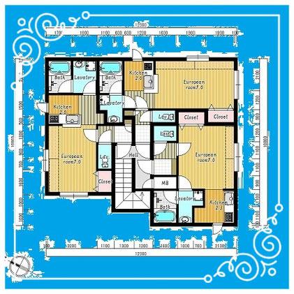 マンダリン北7条101号室-MandarinN7-101