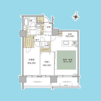プレミスト円山表参道1405号室-PremistMaruyamaOmotesando-1405
