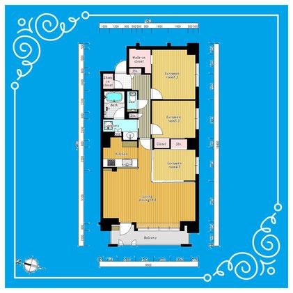ラ・クラッセ札幌ステーションプラス401号室 LaClasseSapporoStationPlus-401