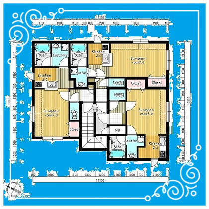 マンダリン北7条302号室-MandarinN7-302