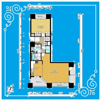 パークホームズ札幌ステーションフロント304号室