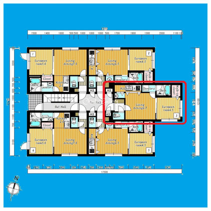 ブランノワールさっぽろSt.203号室-BiancNoirSapporroSt.-203