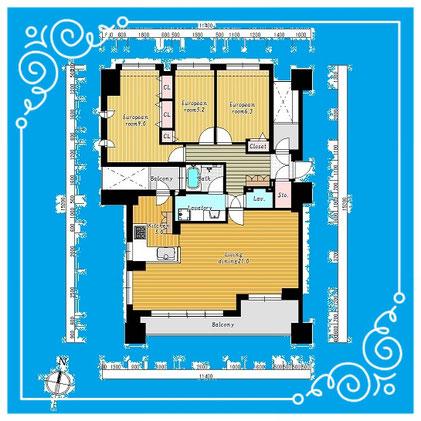 北大前シティハウス901号室-HokudaimaeCityHouse-901