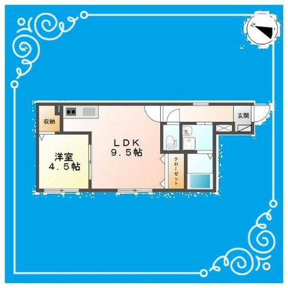 フロント7 402号室 FRONT7-402