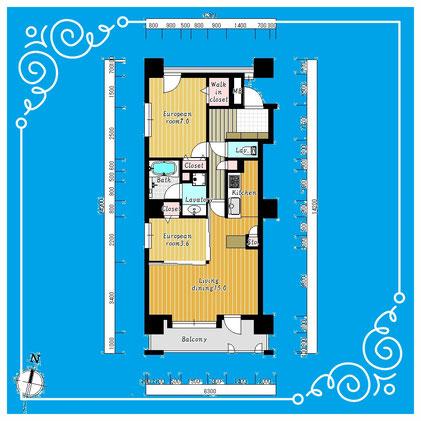 ラ・クラッセ札幌ステーションスクエア502号室 LaClasseSapporoStationSquare-502