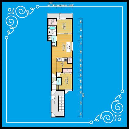 ブランシャール麻生403号室-BlancShaedAZABU-403