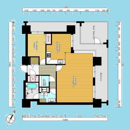 D'グラフォート札幌ステーションタワー3801号室-D'GrafortSapporoStationTower-3801