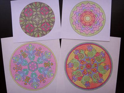 幾何学図案の一例