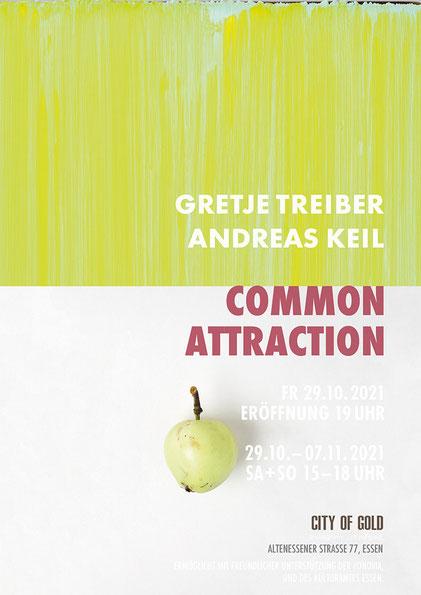 Einladung, Common Attraction, Andreas Keil, City of Gold, Essen