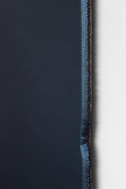 Andreas Keil, Malerei, Kind of Blue, 2012-17, Öl auf  Holz, Köln