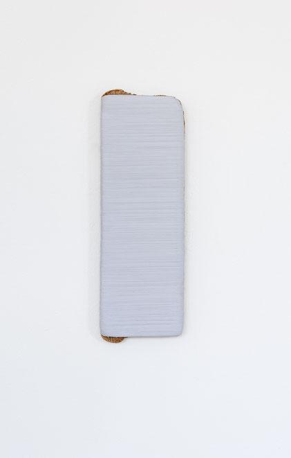 Andreas Keil, Malerei, Cologne Grey II, 2018, Öl auf  Holz, Köln