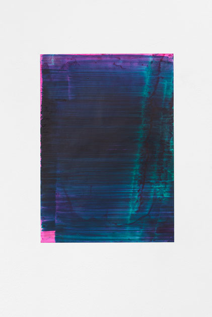 Andreas Keil, Malerei, O.T., 2020, Öl auf Transparentpapie