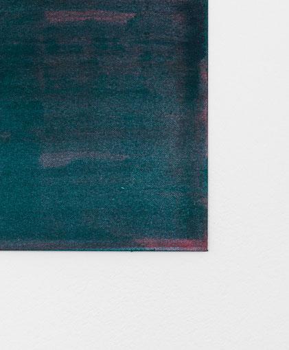 Andreas Keil, Malerei, O.T., 2020, Öl auf Papier