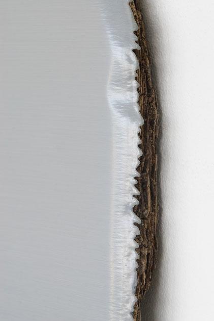 Andreas Keil, Malerei, Cologne Grey, 2008, Öl auf  Holz, Köln