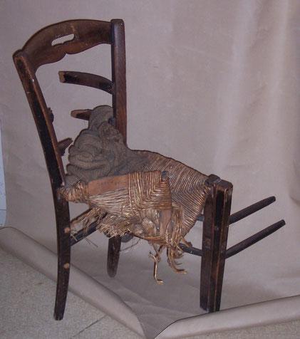 interdit de s'asseoir