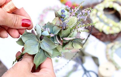 diy workshop,trockenblumen workshop,wandkranz selber machen,herbstdeko selber machen,