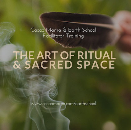 the art of ritual ausbildung berlin cacao mama earth school