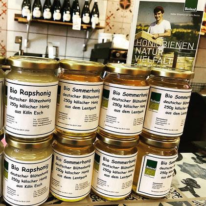 Kölner Bio Honig vom Dom-Imker