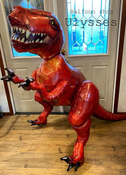 茨城県つくば市のバルーンショップユリシス 恐竜 ダイナソー バルーンギフト バルーンアート 誕生日プレゼント