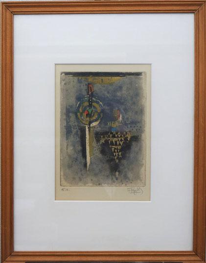 te_koop_aangeboden_een_ets_aquatint_van_de_poolse_kunstenaar_johnny_friedlaender_1912-1992