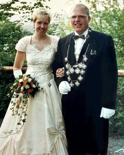 25 jähriges Jubelkönigspaar Michael und Birgit Schröder