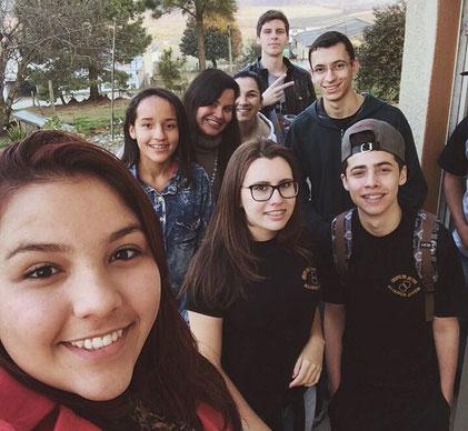Pastoral JUvenil de Curitibanos-SC participou neste final de semana, de 24 de julho, do Encontro Diocesano de Formação de Lideranças, realizado pelo Setor Juventude da Diocese de Lages