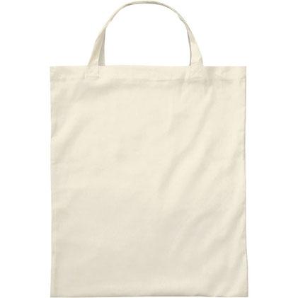 Taschendruck Baumwolltasche, kurze Henkel, Basic XT100