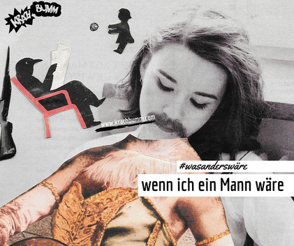 #wasanderswäre ©collage von Katja Grach