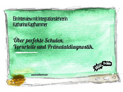 © Katja Grach - Interview mit Katharina Kapfhammer