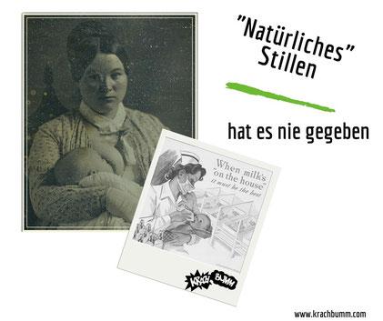 """Über den Mythos des """"natürlichen"""" Stillens"""