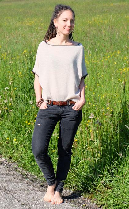 Katjuschka - Easy Knit - mit Jeans
