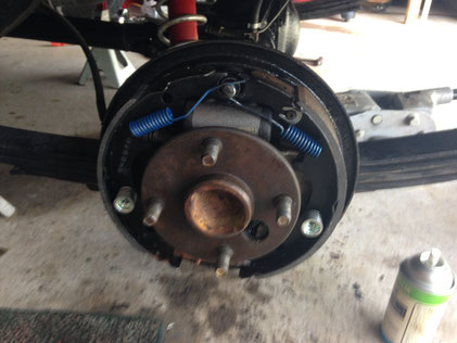 All new brake parts