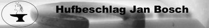 JAN BOSCH - INNOVATIVER HUFSCHMIED IM RAUM BE/SO