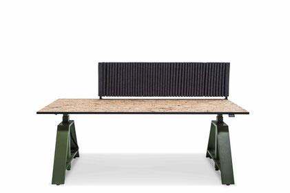 Höhenverstellbarer Schreibtisch MOTU - Tisch inkl. Höhenverstellung