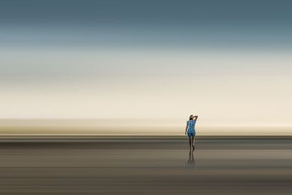NEW: women at the beach, 2021, 1/5, 90x60, Alu Dibond