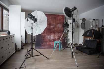 Auch in einem kleinen Studio kann man große Bilder machen
