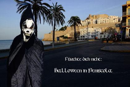 Fürchte dich nicht: Halloween in Peniscola.