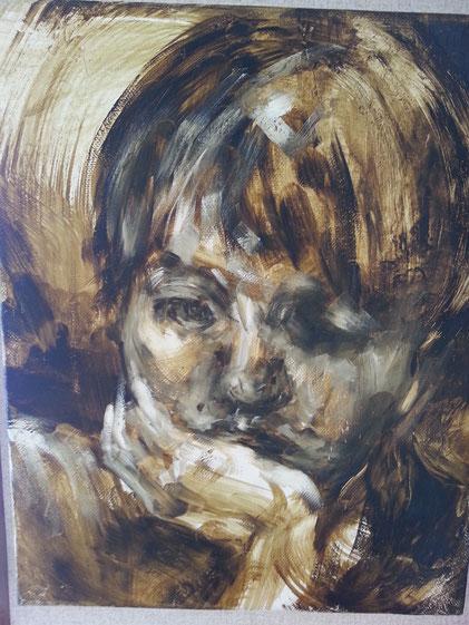 娘の肖像画