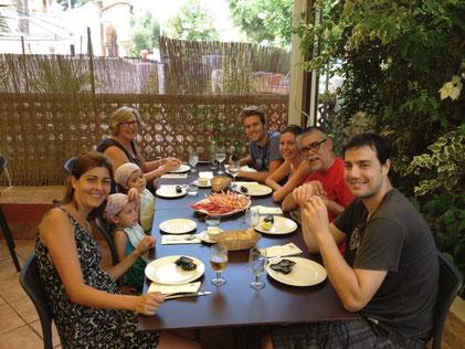 La familia de Ximo Solà celebró aniversario en El Marino-Rotes