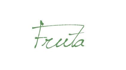 美容室Fruta(フルータ)のロゴ 葛飾区金町の美容室・美容院・ヘアサロン ビューティー 白髪染め 上手 カット